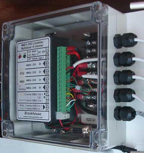 constructing waterproof electronic and electrical boxes for a boat rh boat project com wiring project box Outdoor Wiring Box